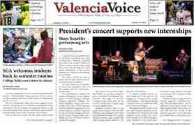 Valencia Voice: Jan. 18