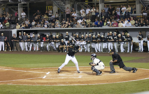 Knights win first game of double header