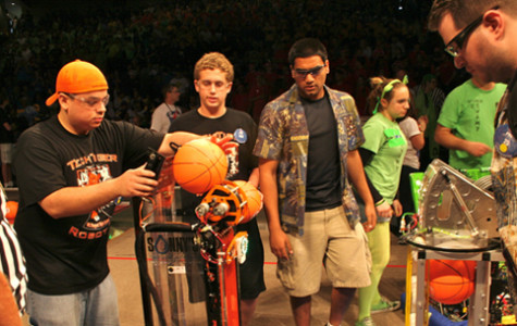 FIRST Robotics competition inspired by NBA All-Stars