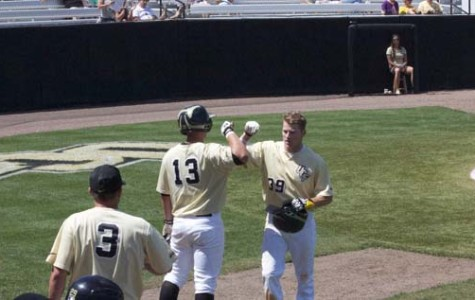 Knights win conference series opener; lose 15-6 on Sunday