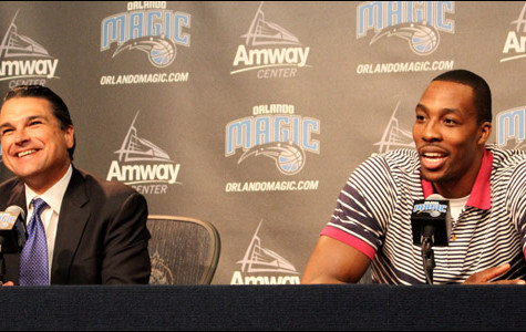 It's all smiles in Orlando: Howard opts in for 2012-13