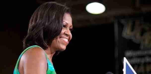 Michelle+Obama+visits+UCF