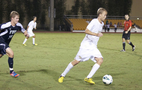 UCF Men's soccer wins first conference game against FIU