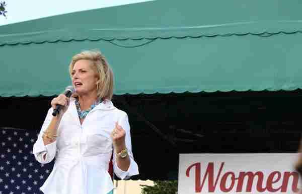 Rally targets Republican women