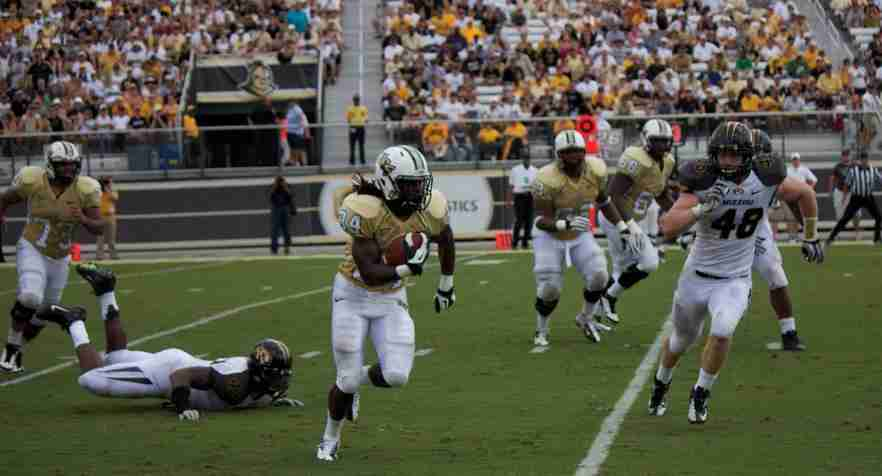 Missouri hands UCF a second loss this season