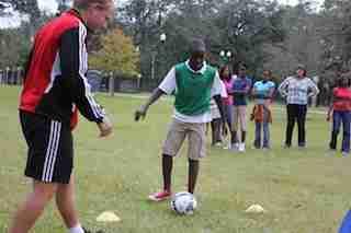 Orlando City host soccer clinic