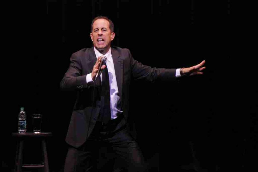 Stand-up pro Jerry Seinfeld turns banality into hilarity