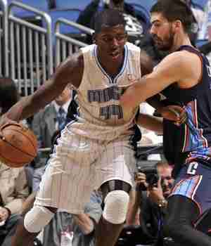 Magic return to losing ways after All-Star break, collapse to last place Bobcats 105-92