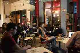 Urban ReThink 'Art in Process,' professor speaks downtown