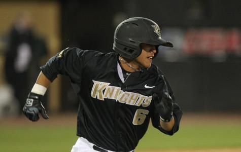 Knights baseball easily defeat Saints 7-1 on opening night