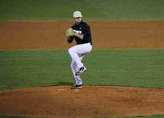 Knights finish off on top, shutout Eagles 3-0