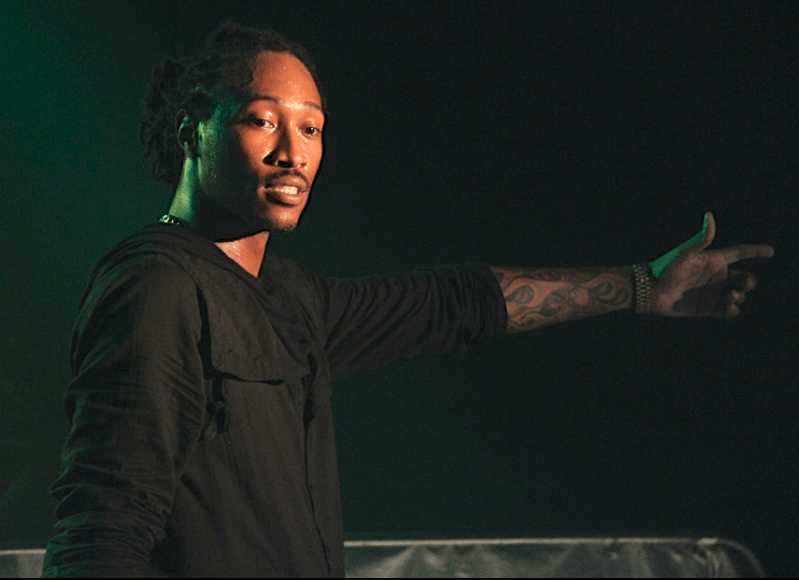 Rapper Future performed at Firestone Live as a part of
