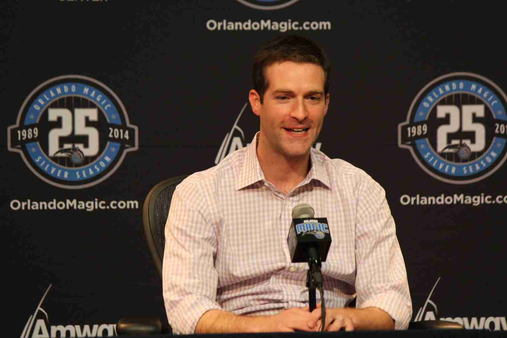 Rob Hennigan addressed the media on the day leading up to the draft.