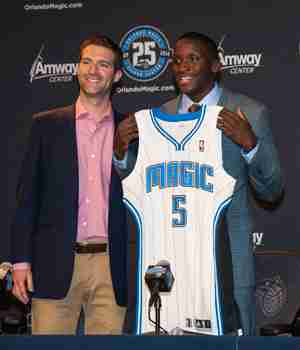 Oladipo makes first trip to Orlando since being draft