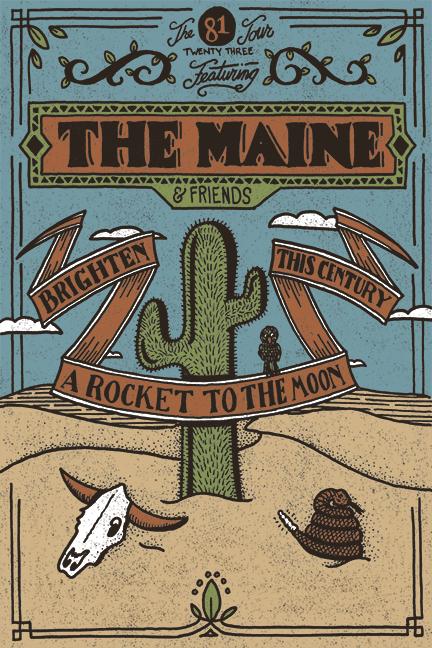 The+Maine+brings+81+Twenty+Three+tour+to+The+Beacham+tonight