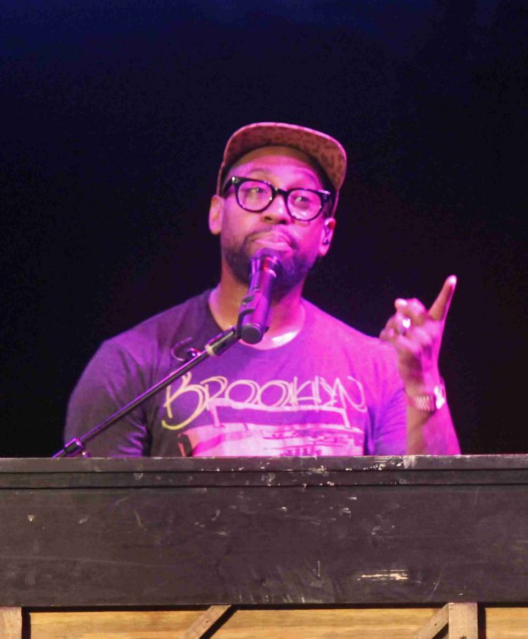 PJ Morton played for over an hour in what was his second appearance at The Abbey.