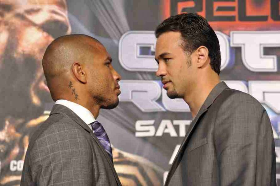 Miguel Cotto (left) will face-off against Delvin Rodriguez (right) on October 5th.