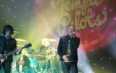 "Chester Bennington of Linkin Park performing  ""Out of Time"