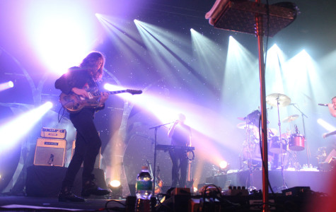 Imagine Dragons performed a 15-song set on Sept. 23, 2013 at CFE Arena in Orlando, Fla (Ty Wright/Valencia Voice)