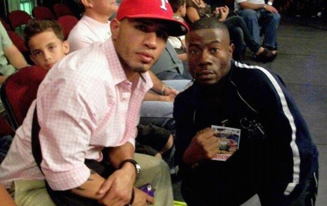 Lamar Charlton (right) was approached by Miguel Cotto's people to fight on Saturday's undercard.