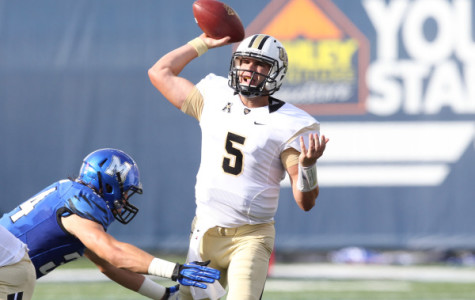 UCF quarterback Blake Bortles went 17-36 passing for 160 yards in the Knights 24-17 conference win over Memphis.