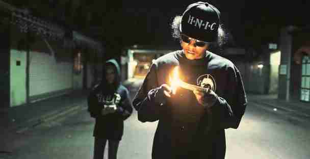 "Screenshot from ""Terrorist Threats"" video"
