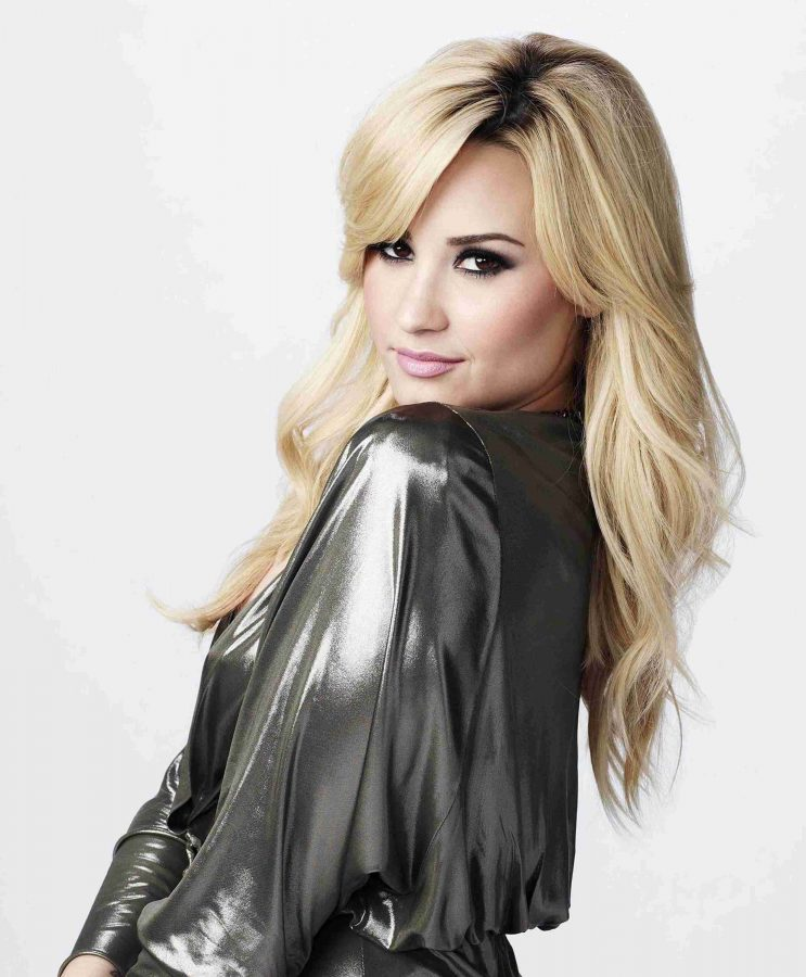 Demi+Lovato+is+one+of+the+judges+of+%22The+X-Factor%22+on+Fox.
