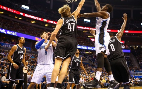 Orlando Magic second-year foward Andrew Nicholson recorded 17 points and 11 rebounds off the bench.
