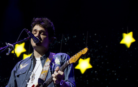 John Mayer performs at the Amway Center in Orlando, Fla., on Monday, Dec. 9, 2013. (Ty Wright / Valencia Voice)