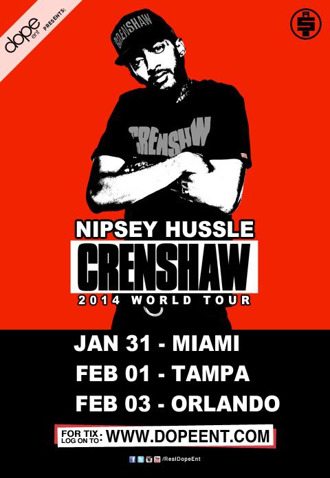 Nipsey Hussle bringing 'Crenshaw' to downtown nightclub