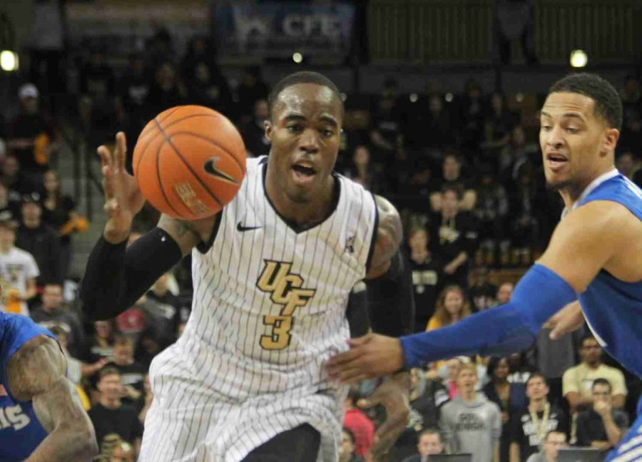 Isaiah Sykes finished with 24 points and 12 rebounds in the Knights loss to Memphis.
