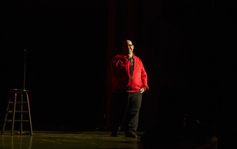 Johnny B opened for Ralphie May at the Hard Rock Live in Orlando, Fla. on Friday, Jan. 25 2014. (Ty Wright / Valencia Voice)