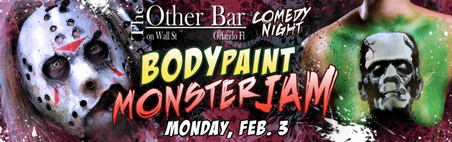 Comedy mixed with some body paint