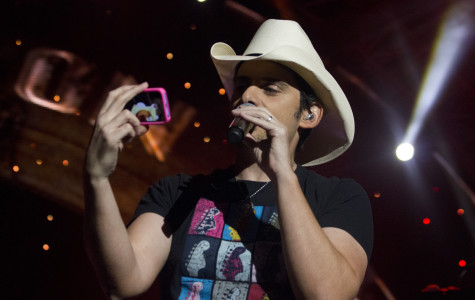 Brad Paisley performs at the
