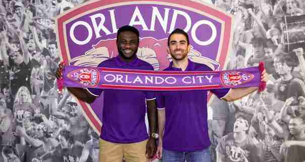 Joseph Toby (left) and Austin da Luz will play for Orlando City during their final USL Pro season.