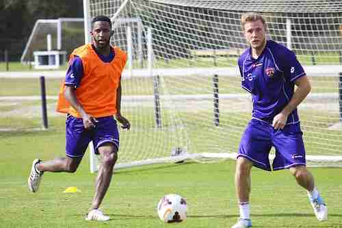Yordany Alvarez (left) will be returning to Orlando City after three years in the MLS.