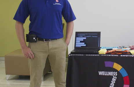 Campus club helping enstill wellness in students