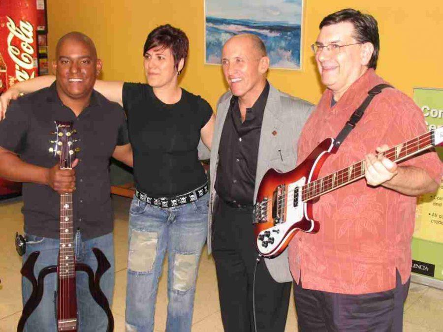 Richard Sansone (right-center) is putting together the 7th annual Valencia Brazilian Film Festival.
