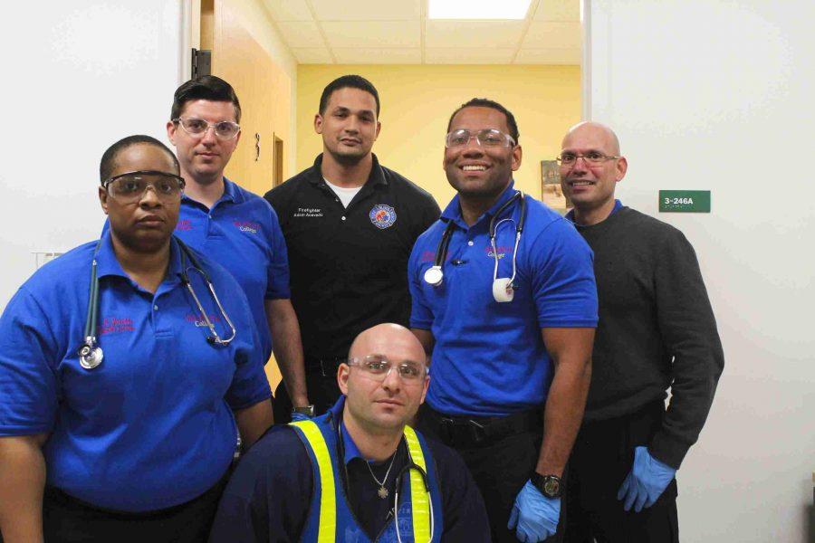 Many EMT students often join the paramedics program once completing original program.