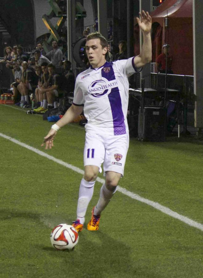Corey Hertzog scored his first goal in an Orlando City uniform on Wednesday night against the Philadelphia Union.