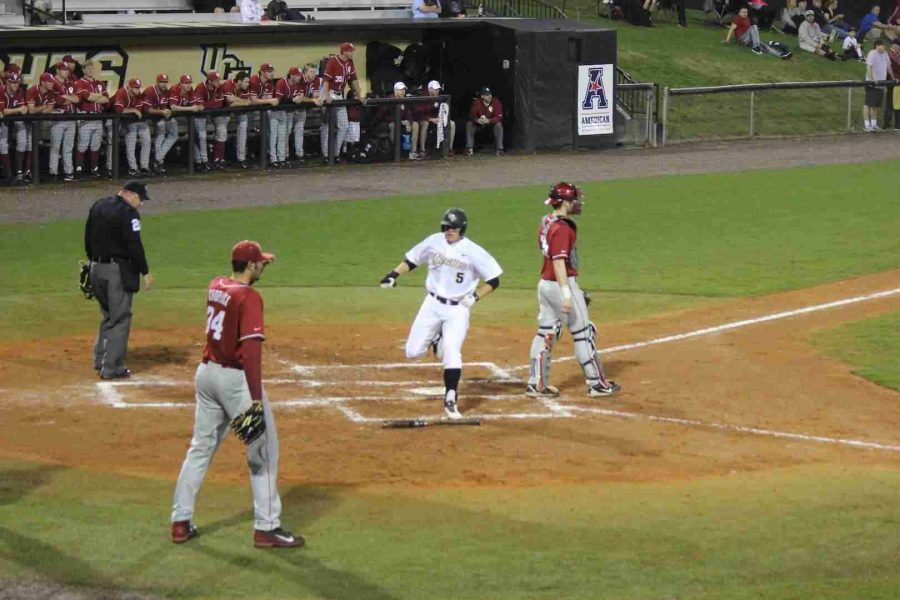 Brooks Morgan (No.2) went 1-3 with an rbi and a run scored on Saturday against Oklahoma.