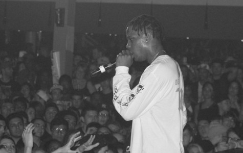 Travi$ Scott opens for Juicy J's 'Never Sober Tour' at the Firestone Live in Orlando, Fla. on Feb. 21, 2014. (Ty Wright / Valencia Voice)