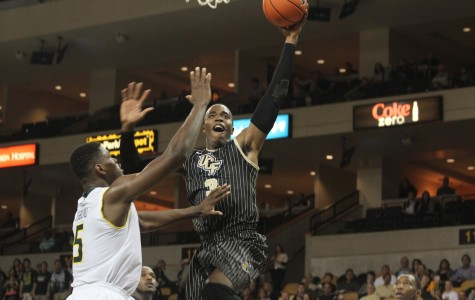 Isaiah Sykes scored 24 points and had 12 rebounds in UCF's overtime lose to USF on Wednesday.