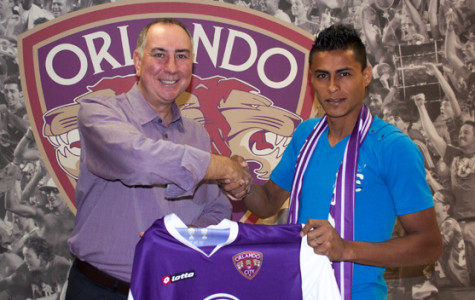 El Salvadorian player adds offense to Orlando City Roster
