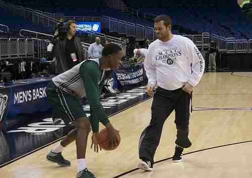 Steve Masiello  was an assistant coach to Rick Pitino for six years before going to Manhattan.