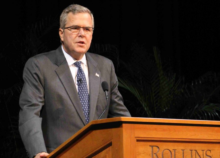 Jeb+Bush+speaks+at+Rollins%3B+three+steps+to+a+brighter+American+future