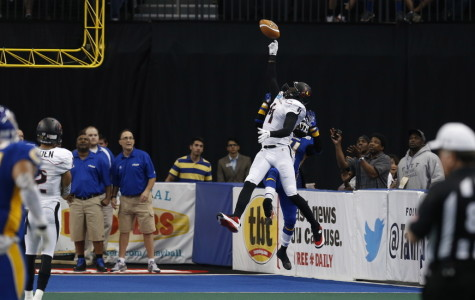 Predators wide receiver Greg  Carr caught two touchdowns, including the game-winner.