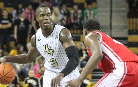 UCF senior Isaiah Sykes had 22 points, five rebounds and four assists during the Knights win over Houston on Senior Night.