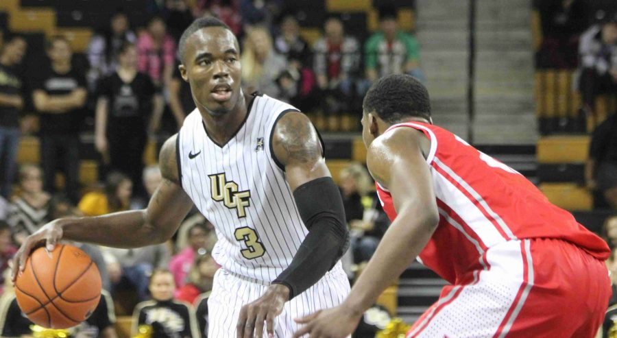 UCF+senior+Isaiah+Sykes+had+22+points%2C+five+rebounds+and+four+assists+during+the+Knights+win+over+Houston+on+Senior+Night.