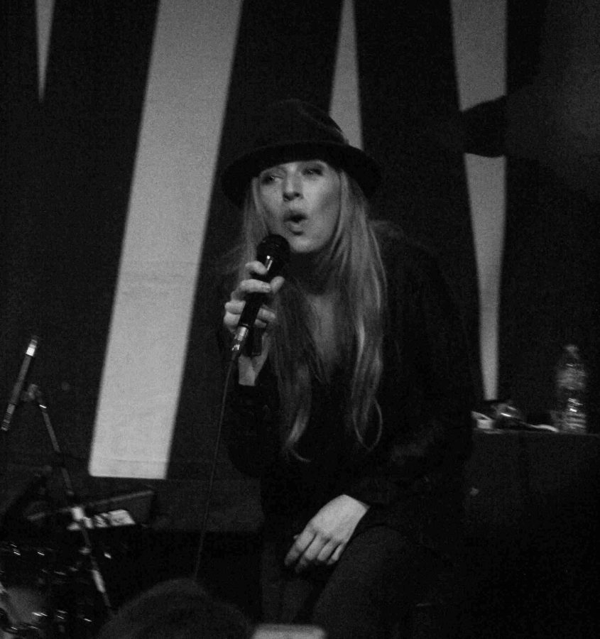 ZZ Ward performs at the 'Love Last Tour' at The Social in Orlando, Fla. on March 7, 2014. (Ty Wright / Valencia Voice)